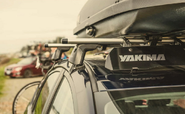 Yakima Roof Rack on Totota Rav4