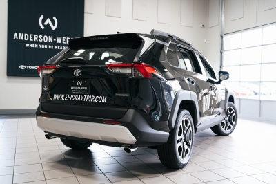 2019 Toyota Rav4 Adventure SUV at Anderson Weber in Dubuque, Iowa for EpicRav4 Trip